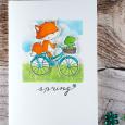 Sandra bischoff free spirits spring card