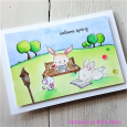 Maria Peters - Welcome Spring Card