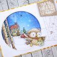 Anna Lorenzetto - EggNog Home Sweet Home Card