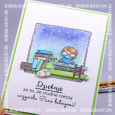 Agnieszka Danek-Wisniak - Bookplate Card angle