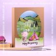 Agnieszka Danek-Wisniak - Pearl Enjoy the Journey Box Card - angle
