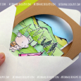 Agnieszka Danek-Wisniak - Pearl Enjoy the Journey Box Card - envelope