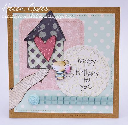 Helen Cryer - Charlote Home Sweet Home Card