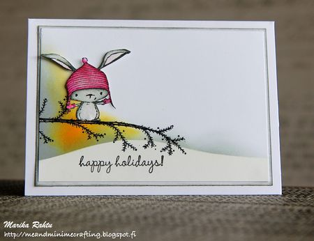 Marika Rahtu - Birch Bough Card