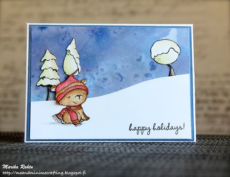 Marika Rahtu - Icicle Happy Holidays Card