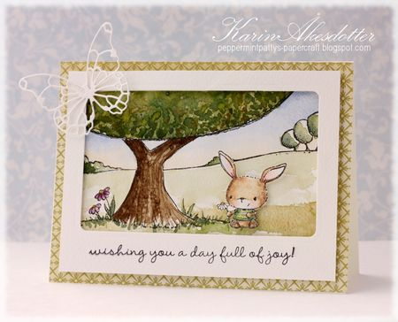 Karin Akesdotter - A Perfect Spot Chloe Card - side