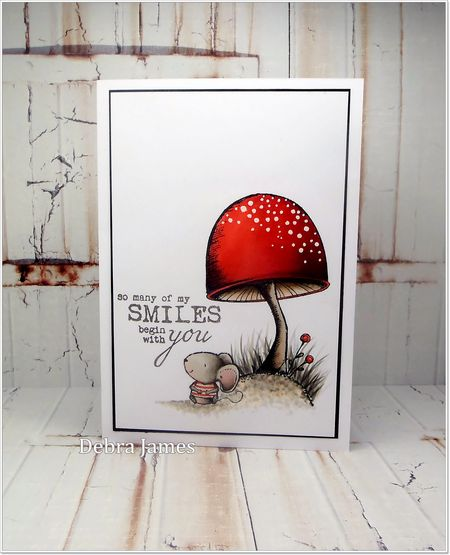 Debra James - Toadstool & Charlotte Card
