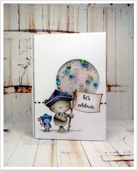 Debra James - Bursting with Pride Card