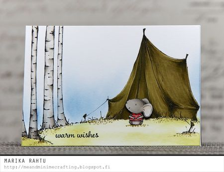 Marika Rahtu - Charlotte Birch Forest Card