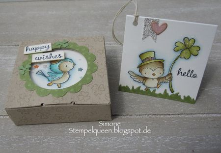 Simone Schwagler - Sunny Box and Lucky Gift Card