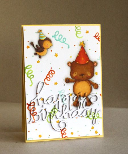 Alice Wertz - Happy and Sunny Birthday Card