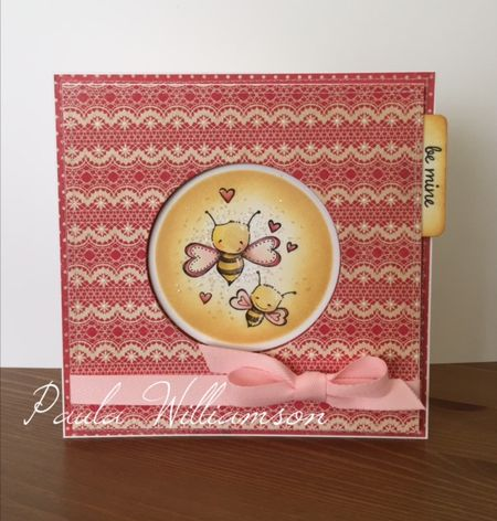 Paula Williamson - Bee Mine Card