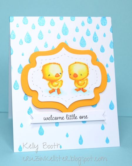 Kelly Booth - True & Blue Card