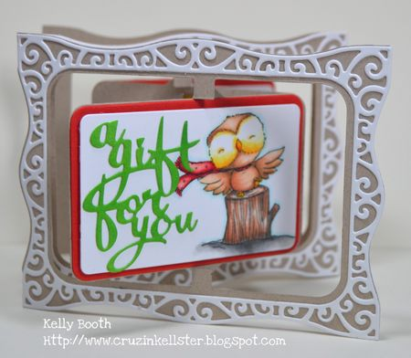 Kelly Booth - Flora Gift Card - front