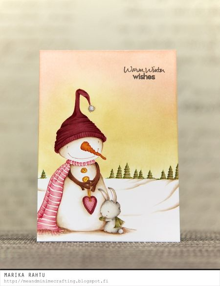 Marika Rahtu - Warm Hearted Card