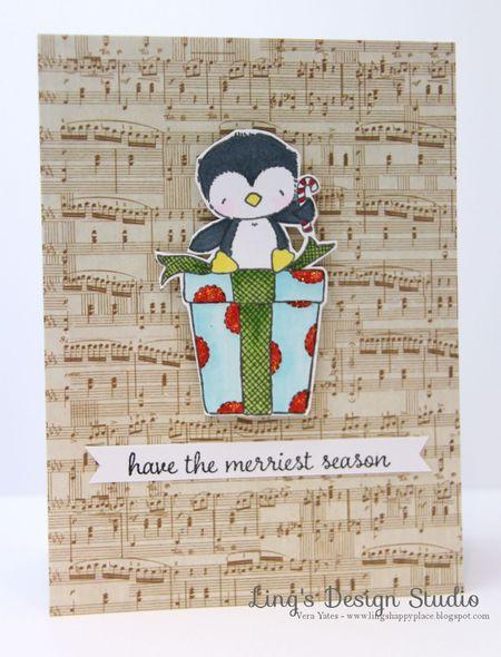 Vera Yates - Merry Card