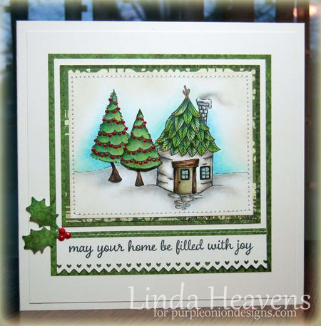 Linda Heavens - Birch House Card