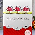 Julia Alterman - Snowy Toadstools Card