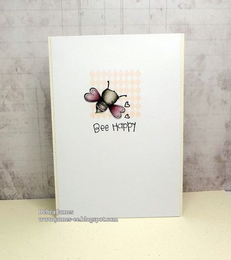 Debra James - Bee Happy Card