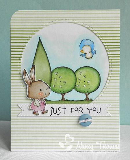 Nancy Thomas - Winston Garden Trees