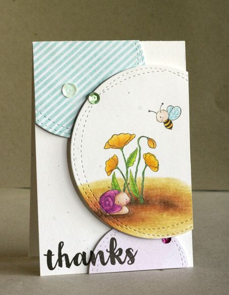 Alice Wertz -Poppies and GardenBugs
