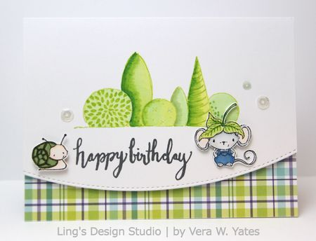 Vera Yates - Elliot Birthday Card