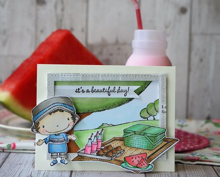 Sally On - It's a beautiful day