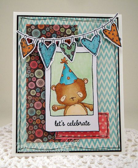 Tracy MacDonald - Happy Celebrate Card