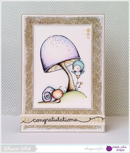 Susen Srb - Toadstool and Tucker Card