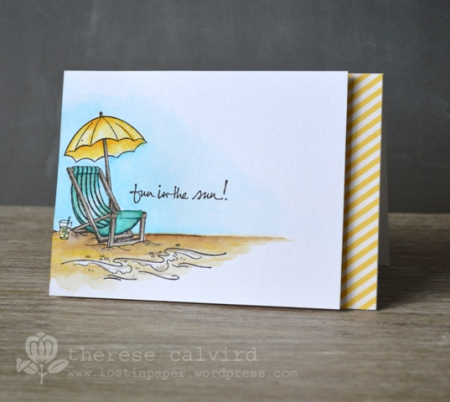 Therese Calvird - Fun in the Sun