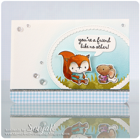 Sonja Kerkhoffs - Oscar and Charlotte You're A Friend Like No Other Card