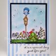 Tracy MacDonald - May, Birdhouse, Wildflowers & Petal