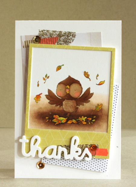 Alice Wertz - Nutmeg Thanks Card