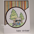 Tracy MacDonald - Joey Happy Birthday Card