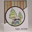 Tracy MacDonald - Joey Happy Birthday Card