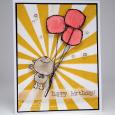 Tracy MacDonald - Bubbly Balloon Birthday Card