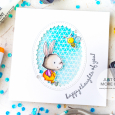 Julia Altermann - Happy Thoughts – Die Cut Window in Square Card-1