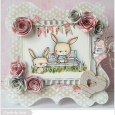 Susen Srb - Chloe and Buttercup Card - close