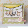 Susen Srb - Perfect Spot May All Your Wishes Come True Card