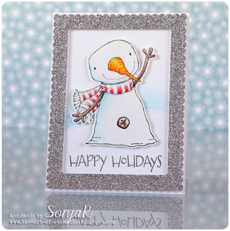 Sonja Kerkhoffs - Berry Happy Holidays Card