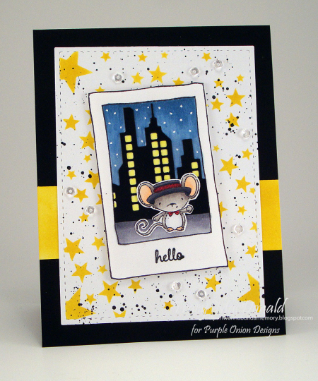 Tracy MacDonald - Oliver Hello City Card
