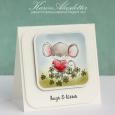 Karin Akesdotter - Heartfelt & Clovers Card