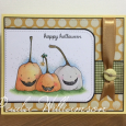 Paula Williamson - Happy Pumpkins Card