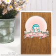 Amy Yang - Star and Sky Thank You Banner Card - prop