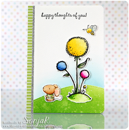 Sonja Kerkhoffs - Sunny Blooms and Charlotte Card