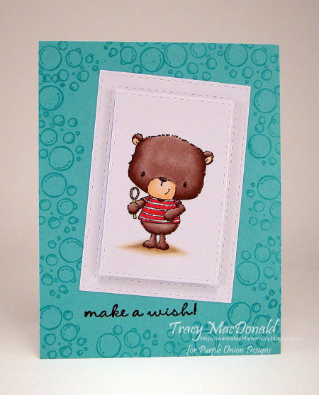 Tracy MacDonald - Jackson Make A Wish Card