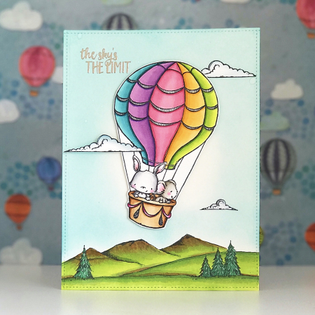 Amy Yang - Up and Away Card