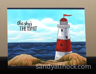 Sandy Allnock - Lighthouse Card