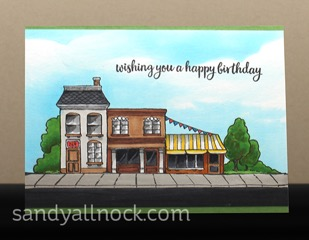 Sandy Allnock - Street Card