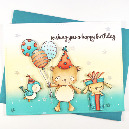 Amy Yang - Happy Birthday Card